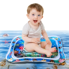 Inflatable Water Play Mat Water Filled Mat Tummy Time Water Mat for Toddlers The Perfect Fun time Play Activity Center Your Baby's Stimulation Growth