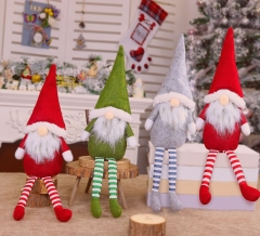 Tomte gnomes, Stuffed Gnomes Elf Decorations Set Pack of 4 Colorful Scandinavian Gnomes Adorable Holidays Home Decorations Gray, Green, and Red Troll